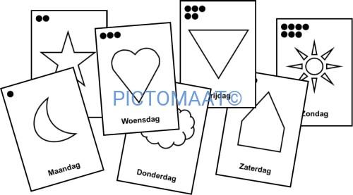 Beste Dagen v/d week (symbool) Pictomaat LK-21